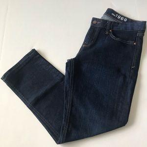 Gap Jeans 1969 Real Straight Dark Wash sz 29s